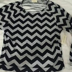 new Bobbie BROOKS ZIG ZAG DESIGN LARGE